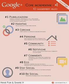 Google+: Tips to increase +1
