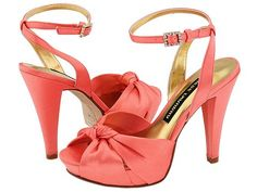 "Coral heels are a must. Why? Because coral is my ""confident"" color... and I just love it!"