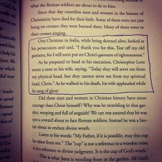 Indescribable faith. This is an intense but surprisingly small part in the book! David Platt, Radical