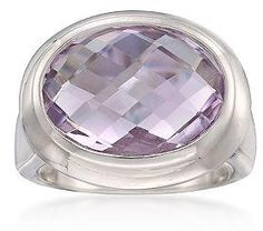 #Ross-Simons Jewelry      #ring                     #Ross-Simons #7.75 #Carat #Rose #France #Amethyst #Ring #Sterling #Silver. ##790112                     Ross-Simons - 7.75 Carat Rose De France Amethyst Ring in Sterling Silver. - #790112                                               http://www.seapai.com/product.aspx?PID=835383