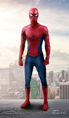 FAN ART: Full View of the New Spider-Man from Captain America ...