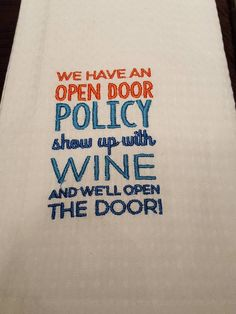 FUNNY TEA TOWELS BY COCKTAIL PARTY LLC