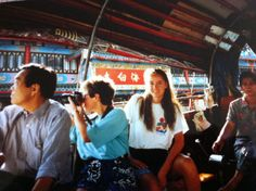 Sampan boat ride, Hong Kong Harbour