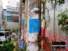 [Paris Tonkar magazine] #graffiti #streetart #urban #lifestyle: Collages de Tarek au Frigo à Paris
