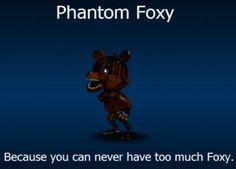 Adventure Phantom Foxy