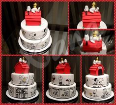 Snoopy time cake! https://m.facebook.com/Xanatopcakes15/
