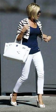 Victoria Beckham's Street Style