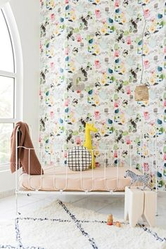 The Cutest Wallpapers for your Child's Room - Petit & Small