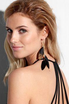 BORN TO BE WILD Ss16, Drop Earrings, Beautiful, Fashion, Fashion Styles, Moda, Drop Earring, Fashion Illustrations