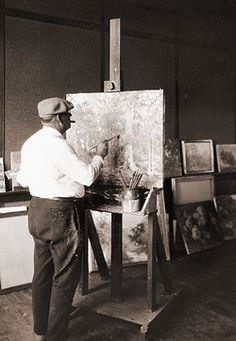 Will Vawter (1871-1941). Artist/Illustrator. Brown County, Indiana. Vawter did illustrations for books of poetry written by James Whitcomb Riley & was a part of the Brown County Art Community in southern Indiana.