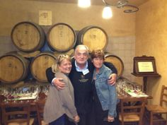 Thank you Tom and Cindy for the great day spent together at the #winery here in #Tuscany! #friends #winetasting #events #cellarwine