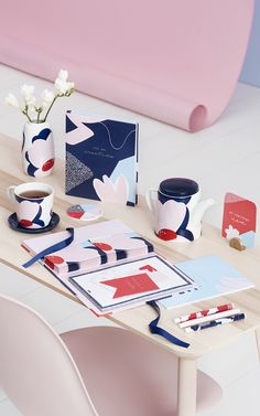 Discover the perfect pretty stationery and planners to inspire creativity.
