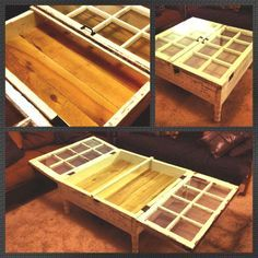 For The Love Of Old Windows Pinterest Window Coffee Tables And