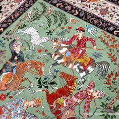 La historia de toda una generación, trazada en hilos de seda. Las alfombras persas