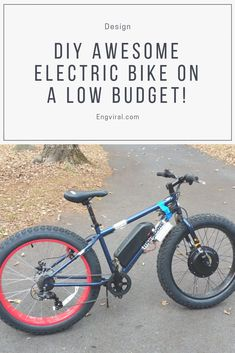 How to make a low budget Electric bike? This DIY electric bike project is perfect for you, the process of making one is easy and not as expensive as you might think. Most of the electric bikes ar… Electric Scooter With Seat, Electric Bike Kits, Electric Power, Electric Cars, Budget Electric, Engine Stand, Civil Engineering Design, Mechanic Jobs, Pedal Cars