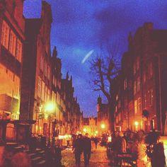 #gdansk #mariacka #night #walk