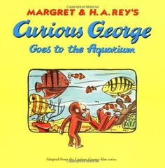 Curious George Goes to the Aquarium by H. A. Rey http://www.amazon.com/dp/0395366283/ref=cm_sw_r_pi_dp_pQkGwb1336NSB