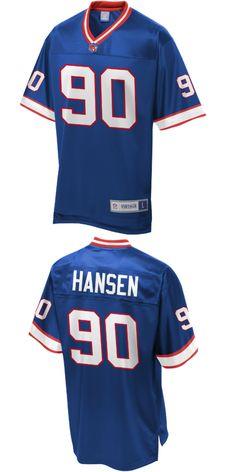 772f3fc86 Buffalo Bills. Phil Hansen Buffalo Bills NFL Pro Line Retired Player Jersey  Royal.