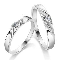 Wedding Bands His And Hers Matching Sets