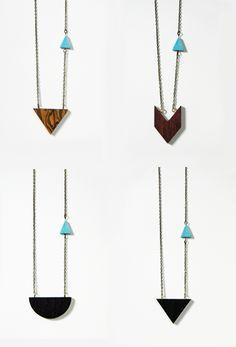 wood pendants