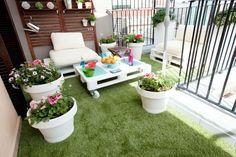 Algunas ideas claves para conseguir una terraza sencilla, práctica y con una decoración divertida. ¡Tomad nota!