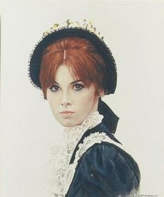 Stefanie Powers (1966) by Norman Rockwell for the movie Stagecoach