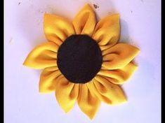 YouTube Felt Flowers, Diy Flowers, Fabric Flowers, Ribbon Flower Tutorial, Lace Ribbon, Flower Making, Felt Crafts, Dream Wedding, Lily