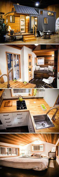 The Kootenay from Greenleaf Tiny Homes