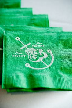 nautical inspired napkins