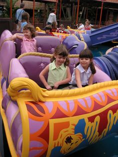 Magic Kingdom seating 411 and height requirements for all rides with photos...