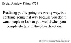 haha.. pretty sure I've gone around the world a few times because of this.
