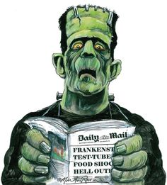 homunculus: 'Frankenstein plays God' shock horror