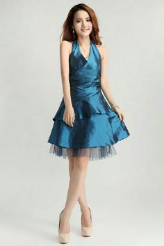 Party dress for petite ladies