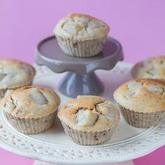 Birnen-Muffins mit Walnüssen (vegan)