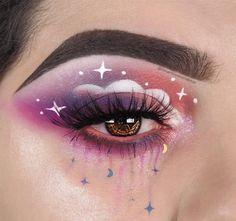 Cute Makeup Looks, Makeup Eye Looks, Eye Makeup Art, Pretty Makeup, Eyeshadow Makeup, Purple Makeup Looks, Makeup Goals, Makeup Inspo, Makeup Inspiration