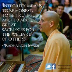 Radhanath Swami: Inspirational words of wisdom by Radhanath Swami, spiritual leader and teacher of bhakti-yoga for over 40 years. Bhakti Yoga, Inspirational Words Of Wisdom, Krishna Quotes, Hare Krishna, Spiritual Quotes, Deep Thoughts, The Life, Life Lessons