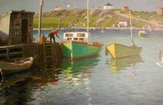 :Leith-Ross, Harry: Fisherman of Isle Madame