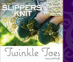 Knit Some Fun Felt Slippers for Unwrapping Presents In