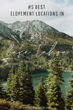 # 5 Best Elopement Locations in South Lake Tahoe — Nelly Cabanillas Photography Sand Harbor Lake Tahoe, Lake Tahoe Map, Lake Tahoe Summer, Lake Tahoe Nevada, Lake Tahoe Vacation, South Lake Tahoe, Spring Lake, Lake Tahoe Restaurants, Tahoe Hotels