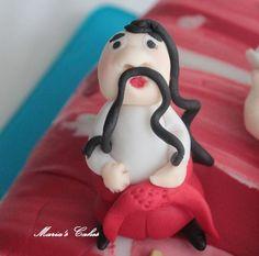 Mustache Man Mustache Man, Fondant Cakes, Cake Ideas, Disney Princess, Disney Princesses, Disney Princes