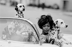 Naomi Campbell, Vogue USA 1990, Photographer Peter Lindberg