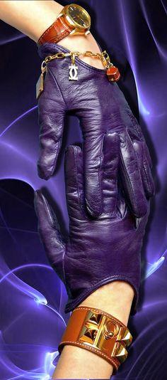 Sermoneta gloves-Hermes Collier-Cartier bracelet- Rolex. ANBENNA