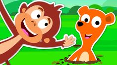 Pop Goes The Weasel | Nursery Rhymes For Kids And Children's | Kids TV