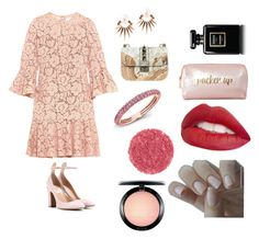 """""""Spring style🌷"""" by vjblankie on Polyvore featuring Valentino, Joana Salazar, Anne Sisteron, Jouer, Neiman Marcus, Chanel and MAC Cosmetics"""