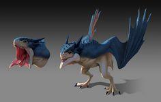 Dragon, Rafael De Guzman on ArtStation at https://www.artstation.com/artwork/dragon-047d165e-a3d2-4581-98d4-981dea7f812f