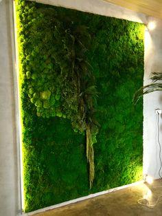 Zielona ściana Everlasting FLOWERS