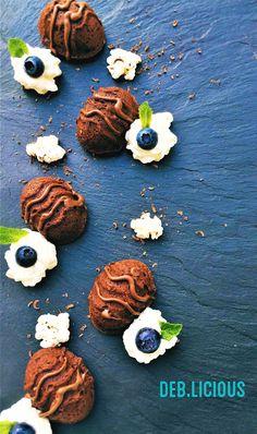 Chocolade cake met mascarpone.