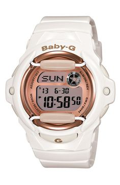 Casio 'Baby-G' Pink Dial Digital Watch available at #Nordstrom