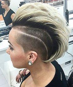 12 trendige Mohawk Frisuren! Würdest Du eine solche Frisur wählen? - Neue Frisur