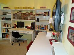 my own desk. This is the office/craft room/sewing room/guest room.